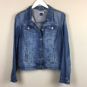 Jean jacket Button Up Size Small